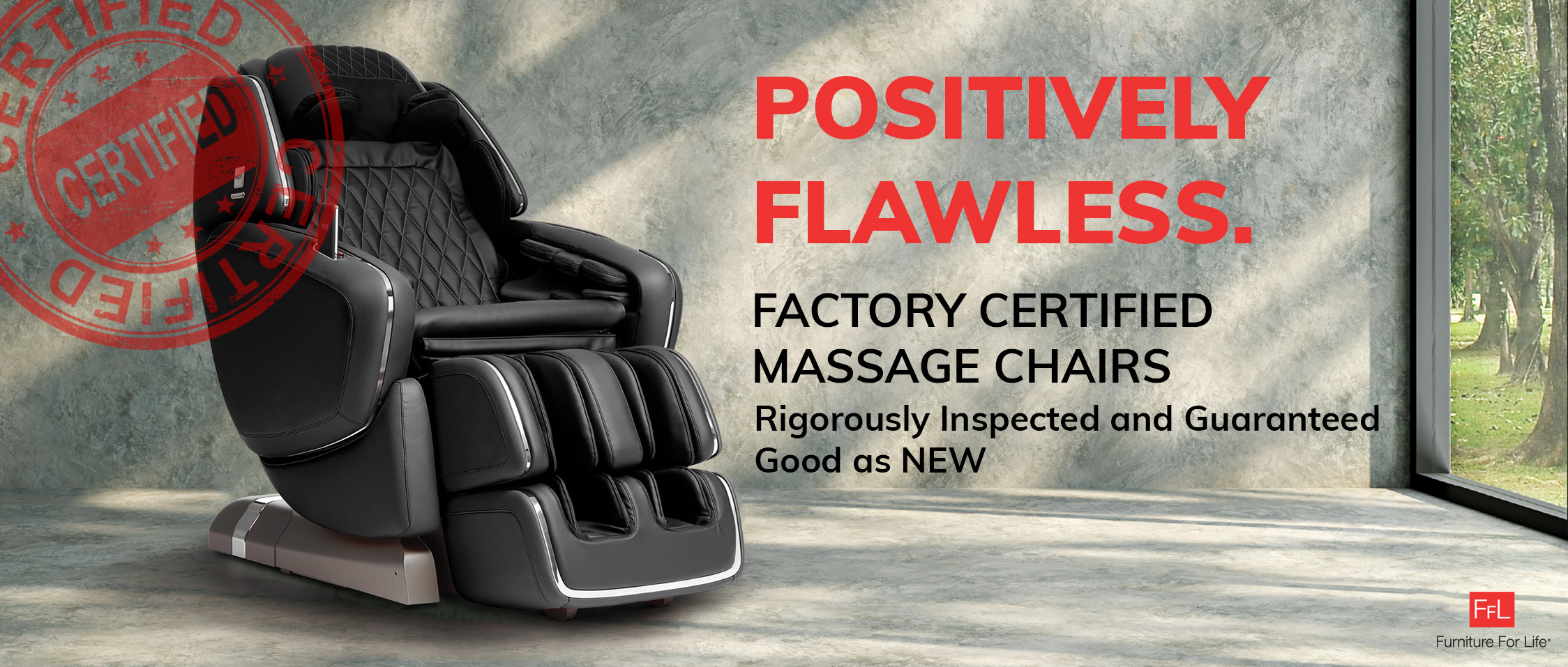 Factory Certified Used Massage Chairs